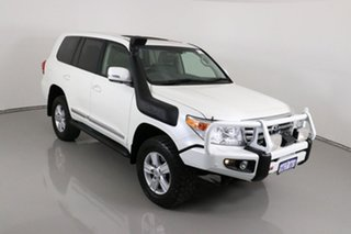 2014 Toyota Landcruiser VDJ200R MY13 Sahara (4x4) White 6 Speed Automatic Wagon
