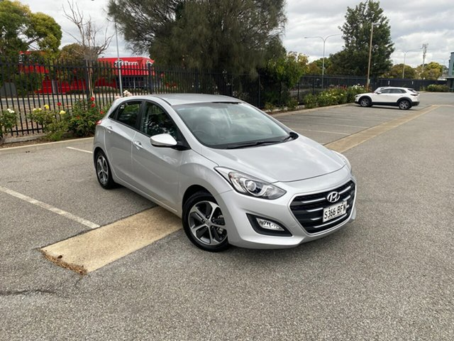 Used Hyundai i30 GD3 Series II MY16 Active X Mile End, 2015 Hyundai i30 GD3 Series II MY16 Active X Silver 6 Speed Manual Hatchback