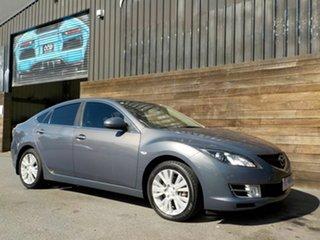 2010 Mazda 6 GH1051 MY09 Classic Grey 5 Speed Sports Automatic Hatchback.