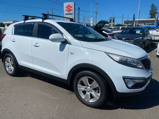 Used Kia Sportage SL Series II MY13 SI Cardiff, 2013 Kia Sportage SL Series II MY13 SI White 6 Speed Sports Automatic Wagon