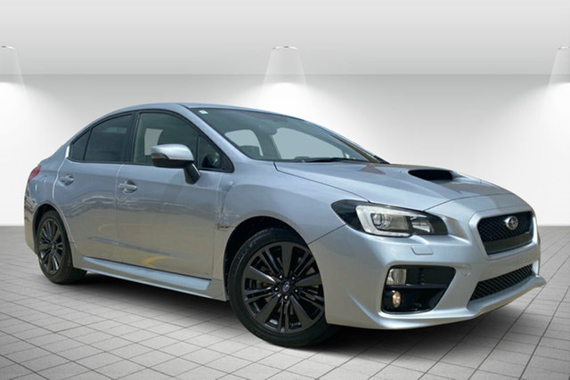 Used Subaru WRX V1 MY15 Lineartronic AWD Hervey Bay, 2014 Subaru WRX V1 MY15 Lineartronic AWD Silver 8 Speed Constant Variable Sedan