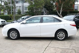 2015 Toyota Camry ASV50R MY15 Altise Diamond White 6 Speed Automatic Sedan