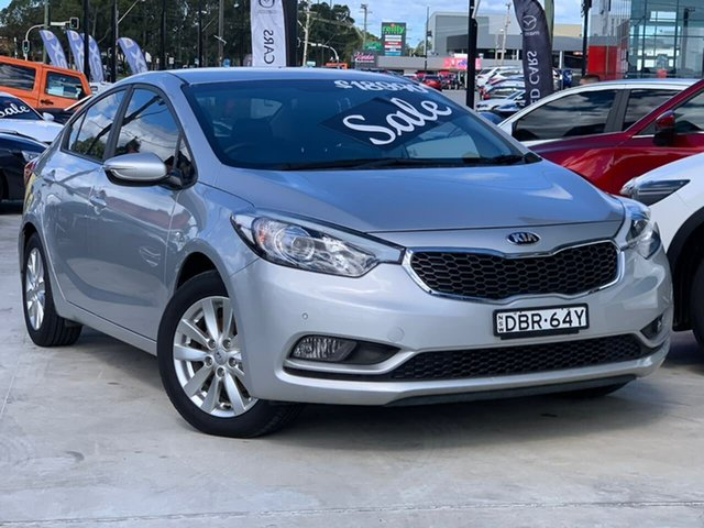 Used Kia Cerato YD MY15 S Premium Liverpool, 2015 Kia Cerato YD MY15 S Premium Silver 6 Speed Sports Automatic Sedan