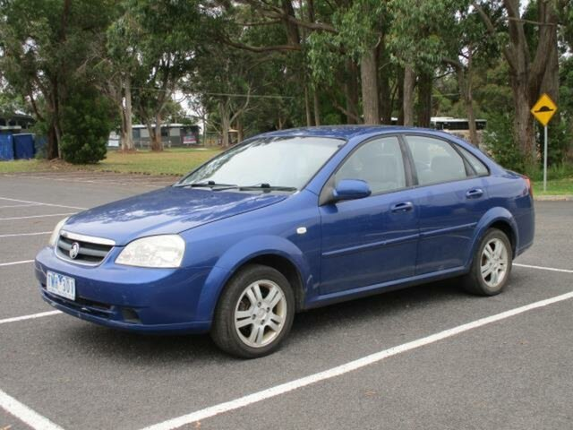 Used Holden Viva JF Timboon, 2005 Holden Viva JF Blue 4 Speed Automatic Sedan