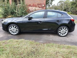 2017 Mazda 3 BN Series SP25 GT Black Manual Hatchback