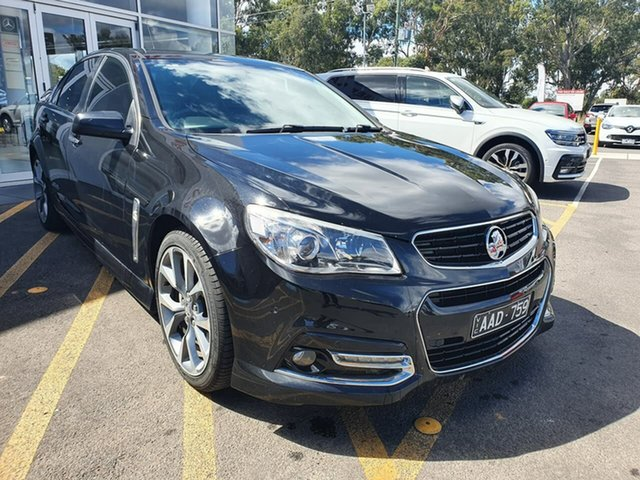Used Holden Commodore VF MY14 SS V Epsom, 2013 Holden Commodore VF MY14 SS V Black 6 Speed Sports Automatic Sedan
