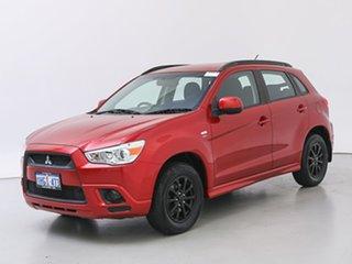 2011 Mitsubishi ASX XA (2WD) Red Continuous Variable Wagon.