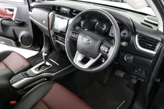 2019 Toyota Fortuner GUN156R Crusade Black 6 Speed Electronic Automatic Wagon