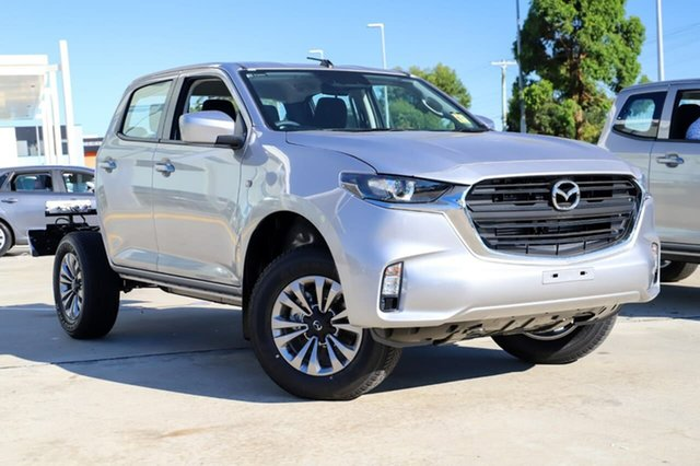 New Mazda BT-50 B30B XT (4x4) Kirrawee, 2020 Mazda BT-50 B30B XT (4x4) Ingot Silver 6 Speed Automatic Dual Cab Chassis