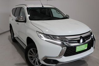 2018 Mitsubishi Pajero Sport QE MY19 GLX White 8 Speed Sports Automatic Wagon