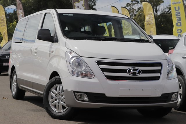 Used Hyundai iMAX TQ3-W Series II MY16 Toowoomba, 2015 Hyundai iMAX TQ3-W Series II MY16 White 5 Speed Automatic Wagon