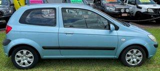 2008 Hyundai Getz TB MY07 S Blue 5 Speed Manual Hatchback.