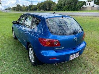 2005 Mazda 3 BK10F1 Maxx Sport Blue 4 Speed Sports Automatic Hatchback