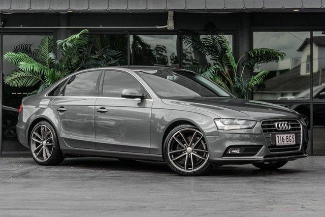 Used Audi A4 B8 8K MY12 Multitronic Bowen Hills, 2012 Audi A4 B8 8K MY12 Multitronic Grey 8 Speed Constant Variable Sedan