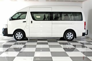 2013 Toyota HiAce KDH223R MY12 Upgrade Commuter White 4 Speed Automatic Bus