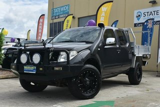 2006 Nissan Navara D40 ST-X (4x4) 6 Speed Manual Dual Cab Pick-up