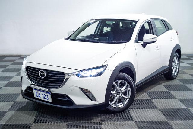 Used Mazda CX-3 DK4W7A Maxx SKYACTIV-Drive i-ACTIV AWD Edgewater, 2015 Mazda CX-3 DK4W7A Maxx SKYACTIV-Drive i-ACTIV AWD White 6 Speed Sports Automatic Wagon