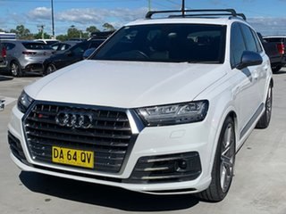 2018 Audi SQ7 4M MY18 TDI Tiptronic White 8 Speed Sports Automatic Wagon