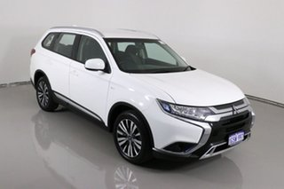 2019 Mitsubishi Outlander ZL MY19 ES 7 Seat (AWD) White Continuous Variable Wagon