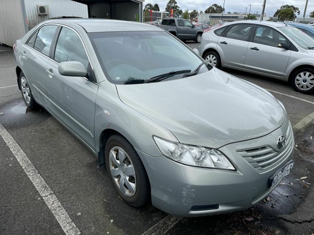 Used Toyota Camry ACV40R 07 Upgrade Altise Traralgon, 2008 Toyota Camry ACV40R 07 Upgrade Altise Silver 5 Speed Automatic Sedan