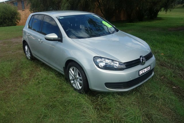 Used Volkswagen Golf VI MY11 118TSI Comfortline East Maitland, 2011 Volkswagen Golf VI MY11 118TSI Comfortline Silver 6 Speed Manual Hatchback