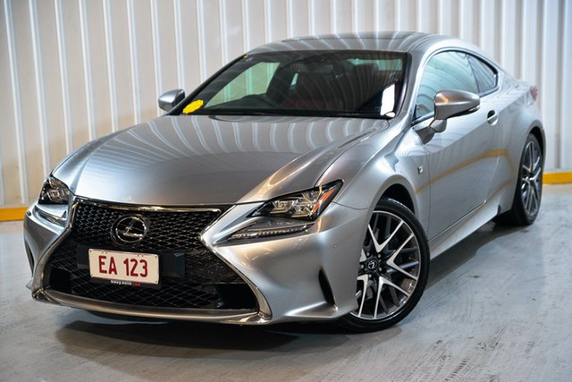 Used Lexus RC GSC10R RC350 F Sport Hendra, 2015 Lexus RC GSC10R RC350 F Sport Silver 8 Speed Sports Automatic Coupe