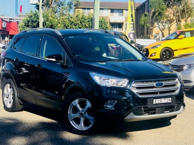 Used Ford Escape ZG 2019.25MY Trend Liverpool, 2019 Ford Escape ZG 2019.25MY Trend Black 6 Speed Sports Automatic SUV