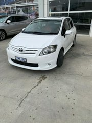 2011 Toyota Corolla ZRE152R MY11 Levin ZR White 4 Speed Automatic Hatchback