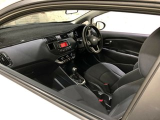2012 Kia Rio UB MY13 S White 4 Speed Sports Automatic Hatchback