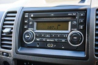 2010 Nissan Navara D40 RX 4x2 Black 6 Speed Manual Utility