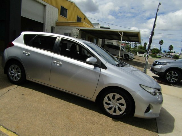 Used Toyota Corolla ZRE182R Ascent S-CVT Moorooka, 2014 Toyota Corolla ZRE182R Ascent S-CVT Silver 7 Speed Constant Variable Hatchback