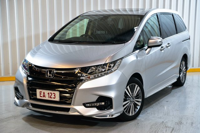 Used Honda Odyssey RC MY19 VTi-L Hendra, 2019 Honda Odyssey RC MY19 VTi-L Silver 7 Speed Constant Variable Wagon
