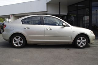 2005 Mazda 3 BK10F1 Maxx Silver 5 Speed Manual Sedan.