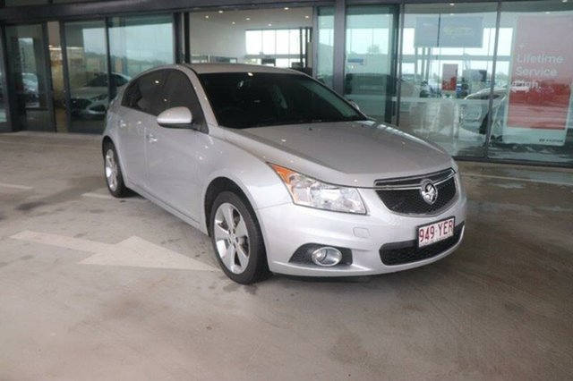 Used Holden Cruze JH Series II MY14 Equipe Augustine Heights, 2014 Holden Cruze JH Series II MY14 Equipe Silver 6 Speed Sports Automatic Hatchback