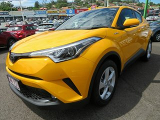 2018 Toyota C-HR NGX10R S-CVT 2WD Yellow 7 Speed Constant Variable Wagon.