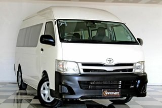 2013 Toyota HiAce KDH223R MY12 Upgrade Commuter White 4 Speed Automatic Bus.
