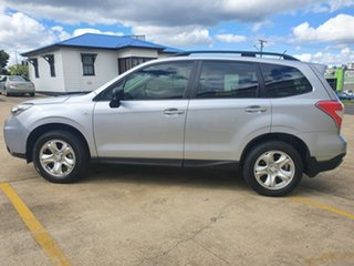 2013 Subaru Forester S4 MY13 2.5i Lineartronic AWD Ice Silver 6 Speed Constant Variable Wagon