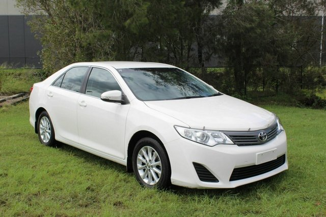 Used Toyota Camry ASV50R Altise Ormeau, 2013 Toyota Camry ASV50R Altise White 6 Speed Sports Automatic Sedan