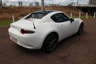 2017 Mazda MX-5 ND SKYACTIV-MT White Nova 6 Speed Manual Convertible