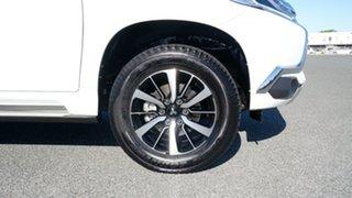2019 Mitsubishi Pajero Sport QE MY19 Exceed White 8 Speed Sports Automatic Wagon