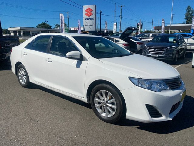 Used Toyota Camry ASV50R Altise Cardiff, 2012 Toyota Camry ASV50R Altise White 6 Speed Sports Automatic Sedan