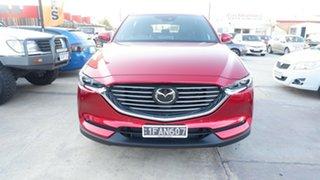 2021 Mazda CX-8 KG2W2A Asaki SKYACTIV-Drive FWD Red 6 Speed Sports Automatic Wagon.
