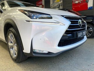 2016 Lexus NX AGZ15R NX200t Sports Luxury White Sports Automatic Wagon
