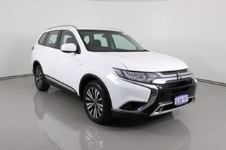 2019 Mitsubishi Outlander ZL MY19 ES 7 Seat (AWD) White Continuous Variable Wagon.