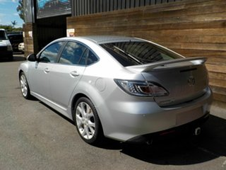 2009 Mazda 6 GH1021 MY09 Luxury Sports Silver 6 Speed Manual Hatchback