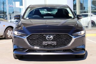 2021 Mazda 3 BP G20 Evolve Machine Grey 6 Speed Automatic Sedan
