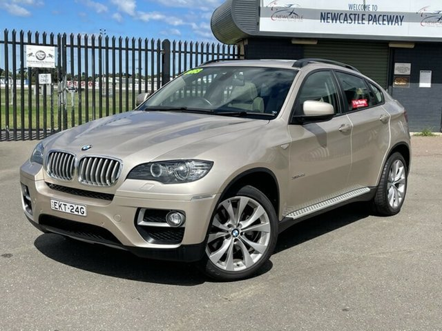 Used BMW X6 E71 LCI MY1112 xDrive40d Coupe Steptronic Newcastle, 2013 BMW X6 E71 LCI MY1112 xDrive40d Coupe Steptronic Beige 8 Speed Sports Automatic Wagon