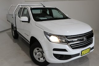 2016 Holden Colorado RG MY17 LS Space Cab White 6 Speed Manual Cab Chassis.