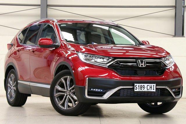 Demo Honda CR-V RW MY21 VTi 4WD LX AWD Glen Osmond, 2020 Honda CR-V RW MY21 VTi 4WD LX AWD Ignite Red 1 Speed Constant Variable Wagon