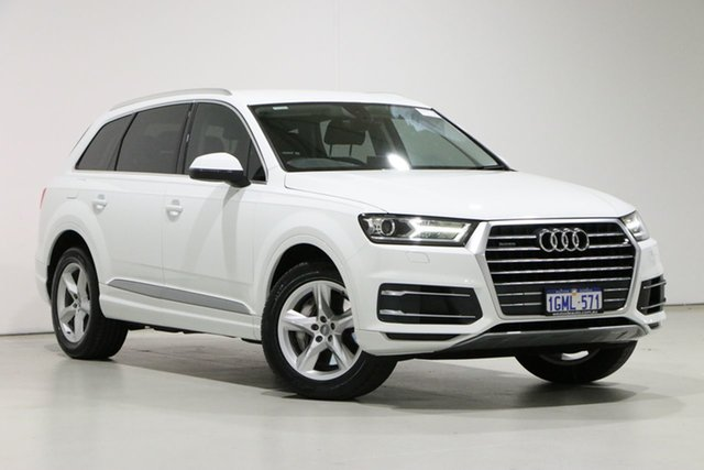 Used Audi Q7 4M MY17 3.0 TDI Quattro (160kW) Bentley, 2016 Audi Q7 4M MY17 3.0 TDI Quattro (160kW) Carrara White 8 Speed Automatic Tiptronic Wagon